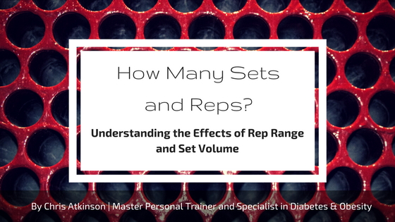 How Many Sets and Reps - Blog Graphic
