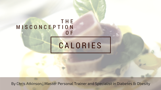 The Misconception of Calories Blog Graphic