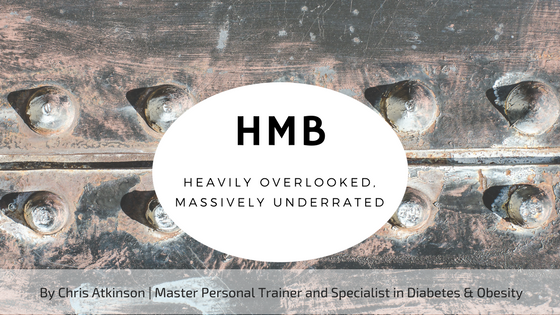 HMB - Heavily Overlooked, Massively Underrated Blog Graphic