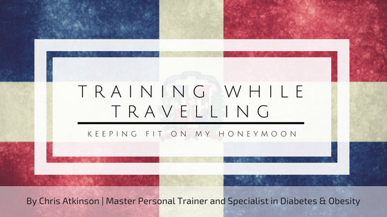 Training While Travelling Blog Graphic