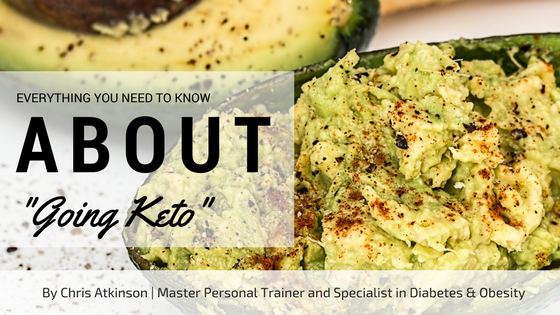 Everything You Need to Know About Going Keto Blog Graphic