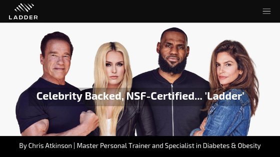 Celebrity Backed, NSF-Certified... 'Ladder'